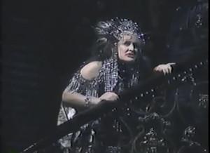 Glenn Close nella scena finale