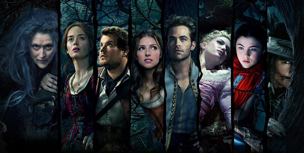 I protagonisti di Into the Woods. Courtesy of Disney