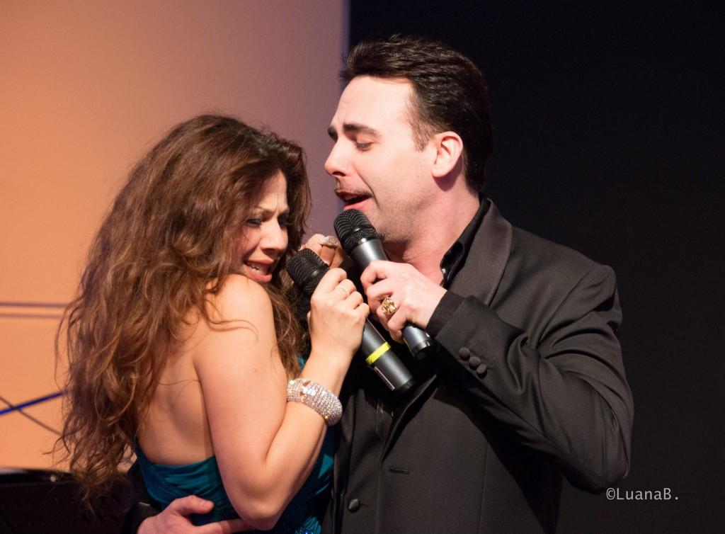 con Marco Manca - foto di Luana Belli