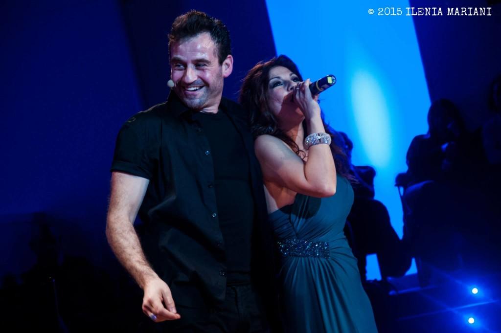 con Marco Rea - Foto di Ilenia Mariani