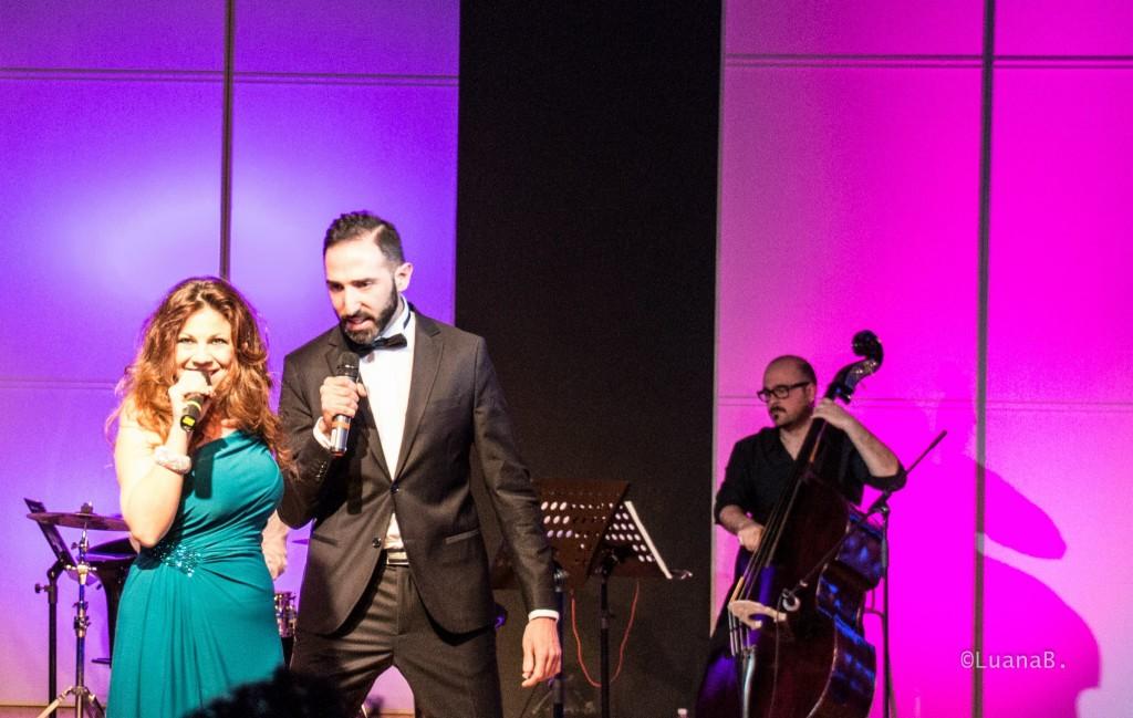 con Maurizio Di Maio - foto Luana Belli