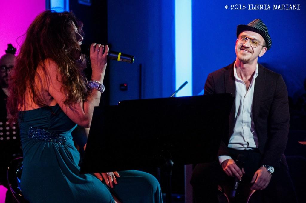 con Simone Leonardi - foto di Ilenia Mariani