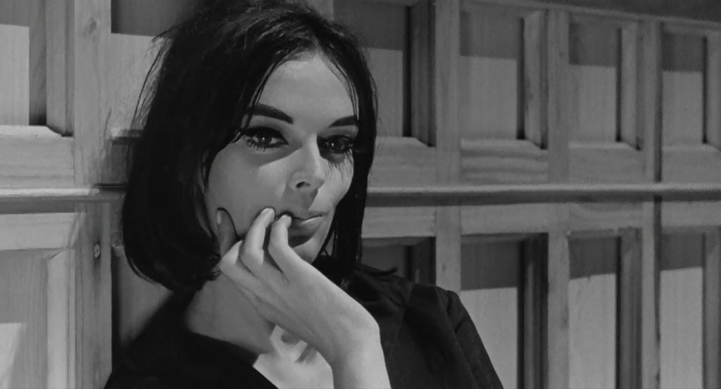 Barbara Steele in 8 1-2