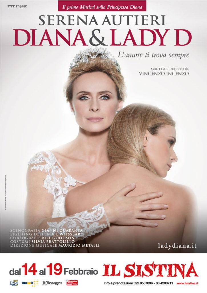 Serena Autieri Diana & Lady D