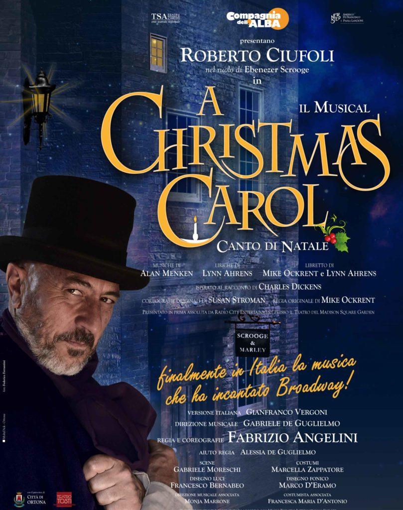 """REVIEW - ROBERTO CIUFOLI IN """"A CHRISTMAS CAROL"""", COMPAGNIA DELL'ALBA"""