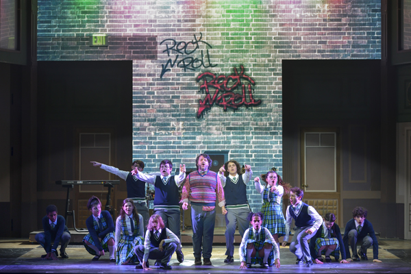 REVIEW - LILLO IN SCHOOL OF ROCK, IL MUSICAL DI ANDREW LLOYD WEBBER